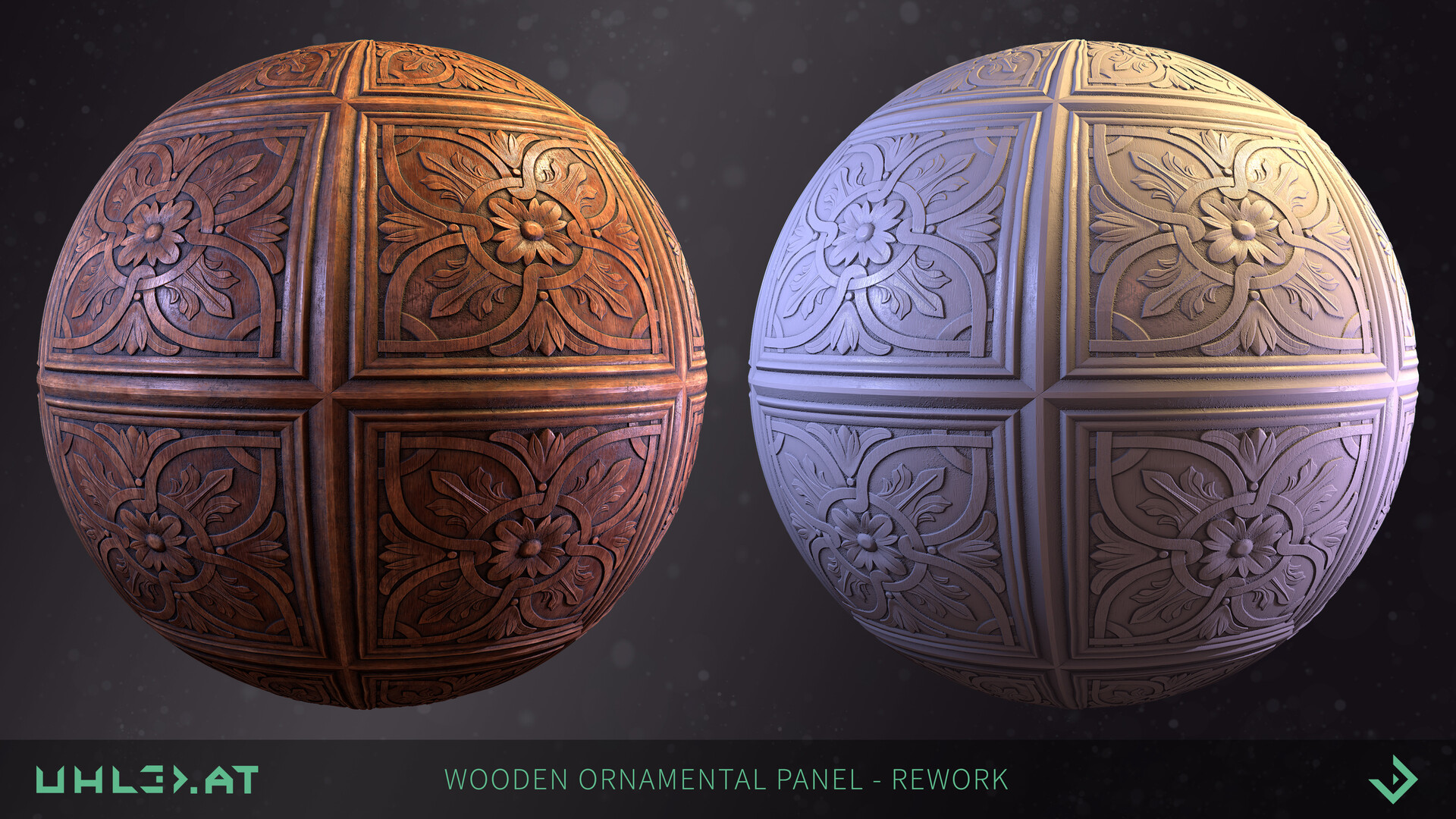 Dominik uhl wood panel ornament rework 02