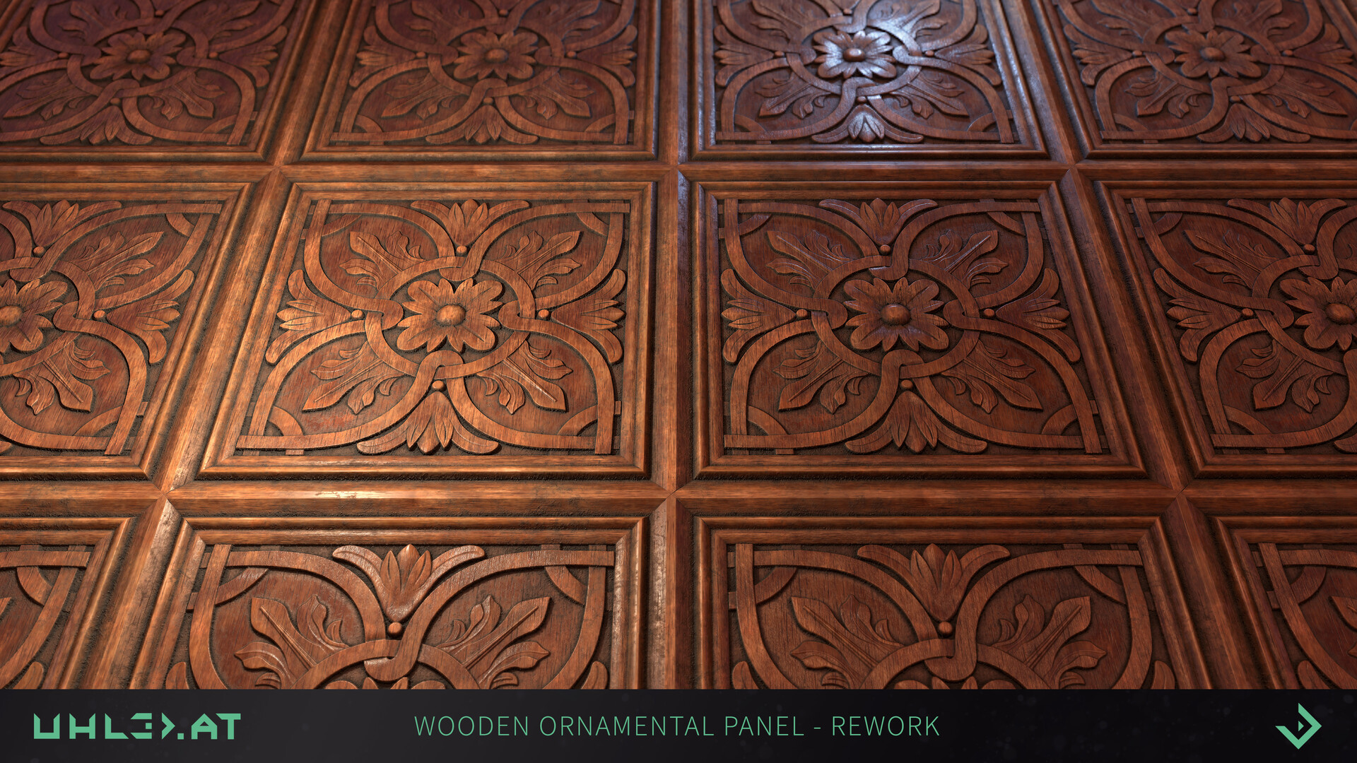 Dominik uhl wood panel ornament rework 03