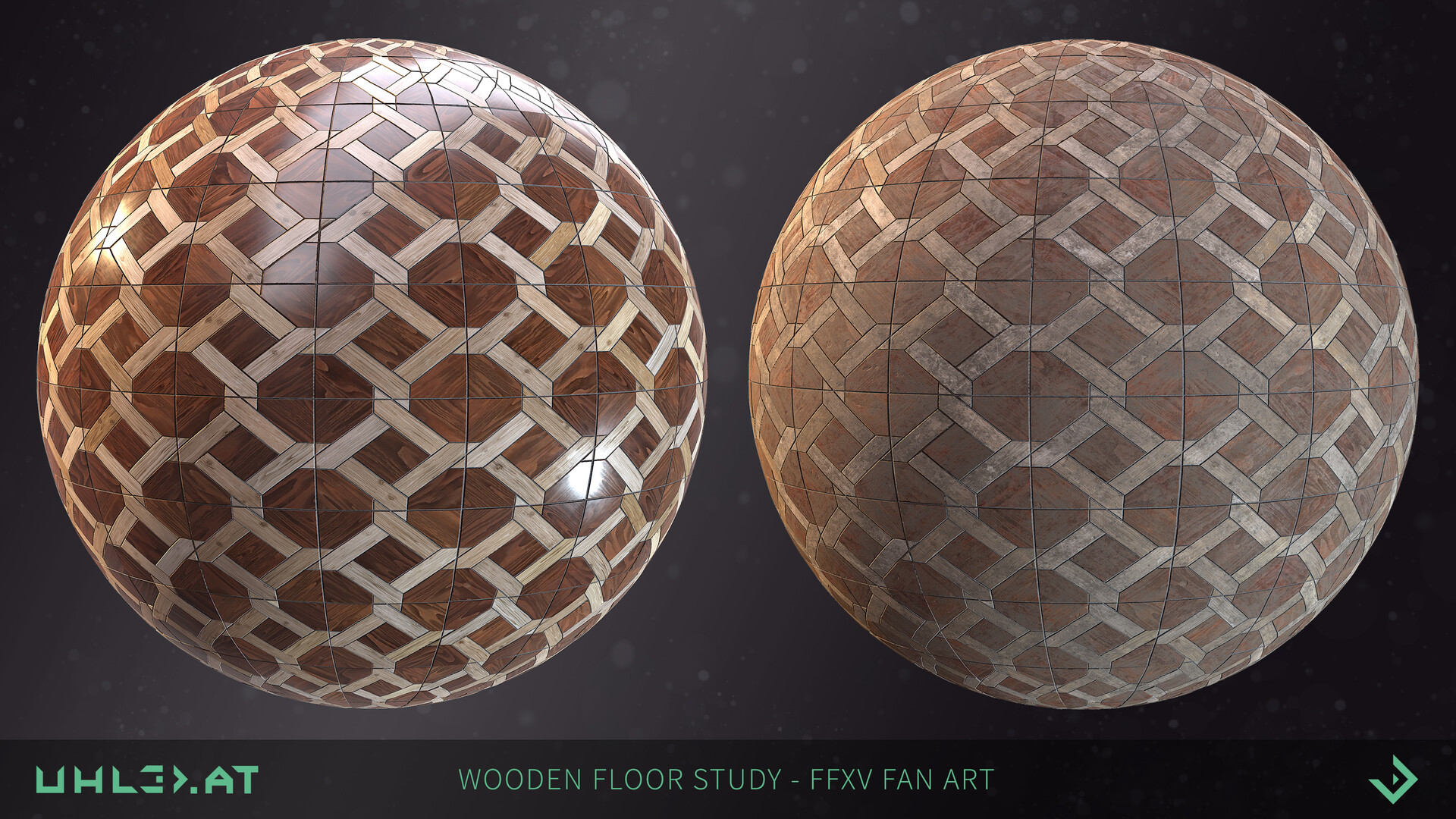 Dominik uhl wooden floor pattern ffxv 01