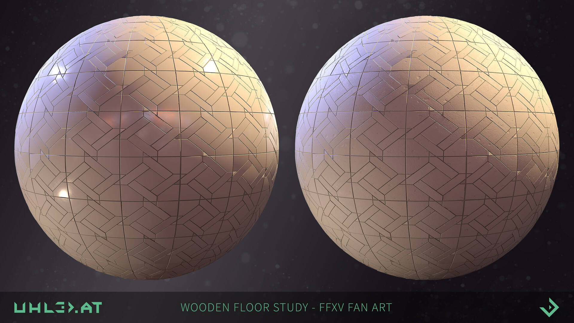 Dominik uhl wooden floor pattern ffxv 04