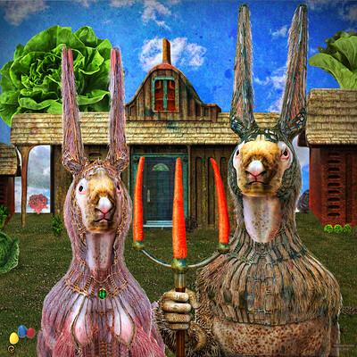 Richard fortier lapins gothiques