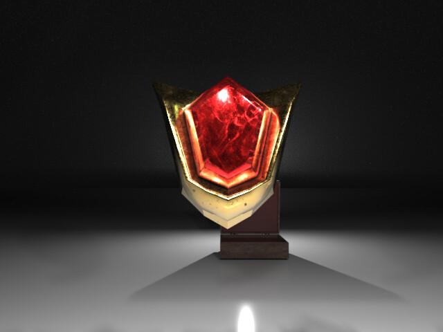 ArtStation - Spiritual Stones from Zelda: Ocarina of time, Adrián