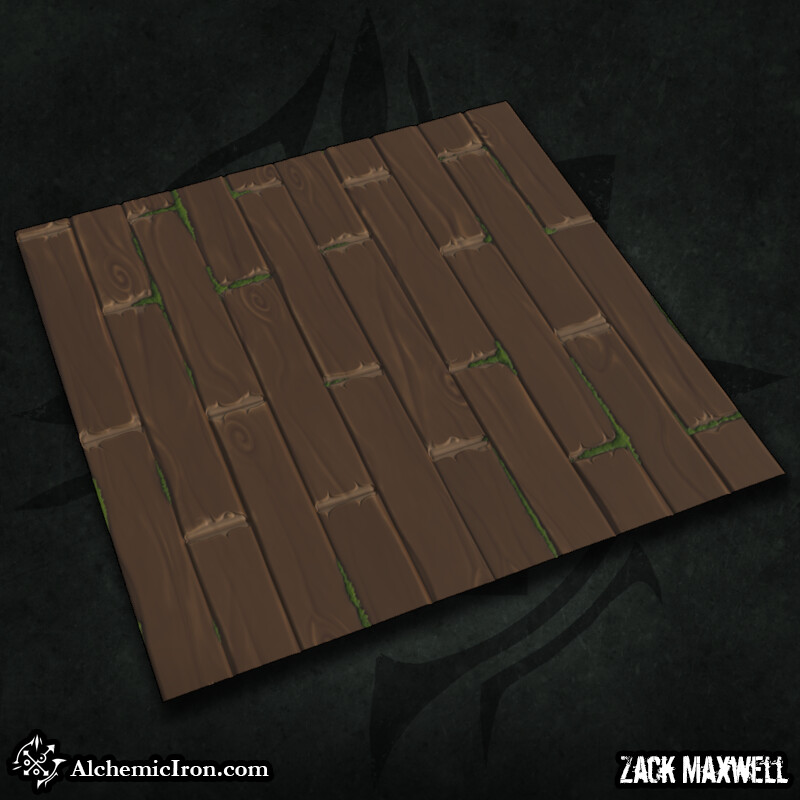 Stylized Wooden Floor