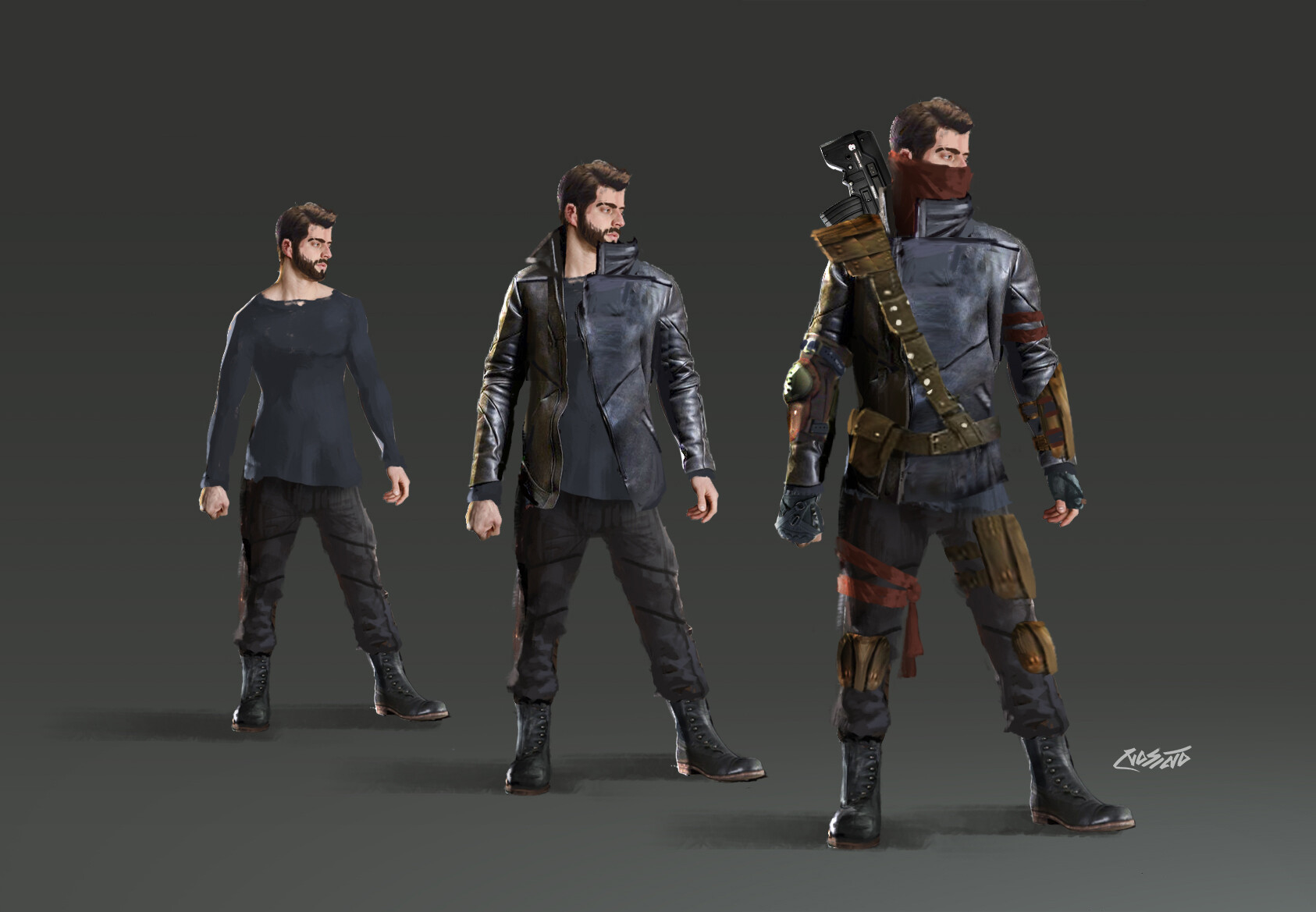 Mohammx essam character raven draft 01