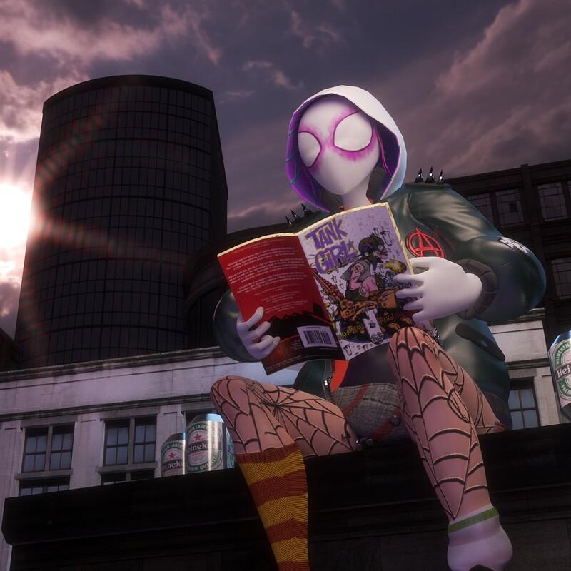 Punk Spider Gwen
