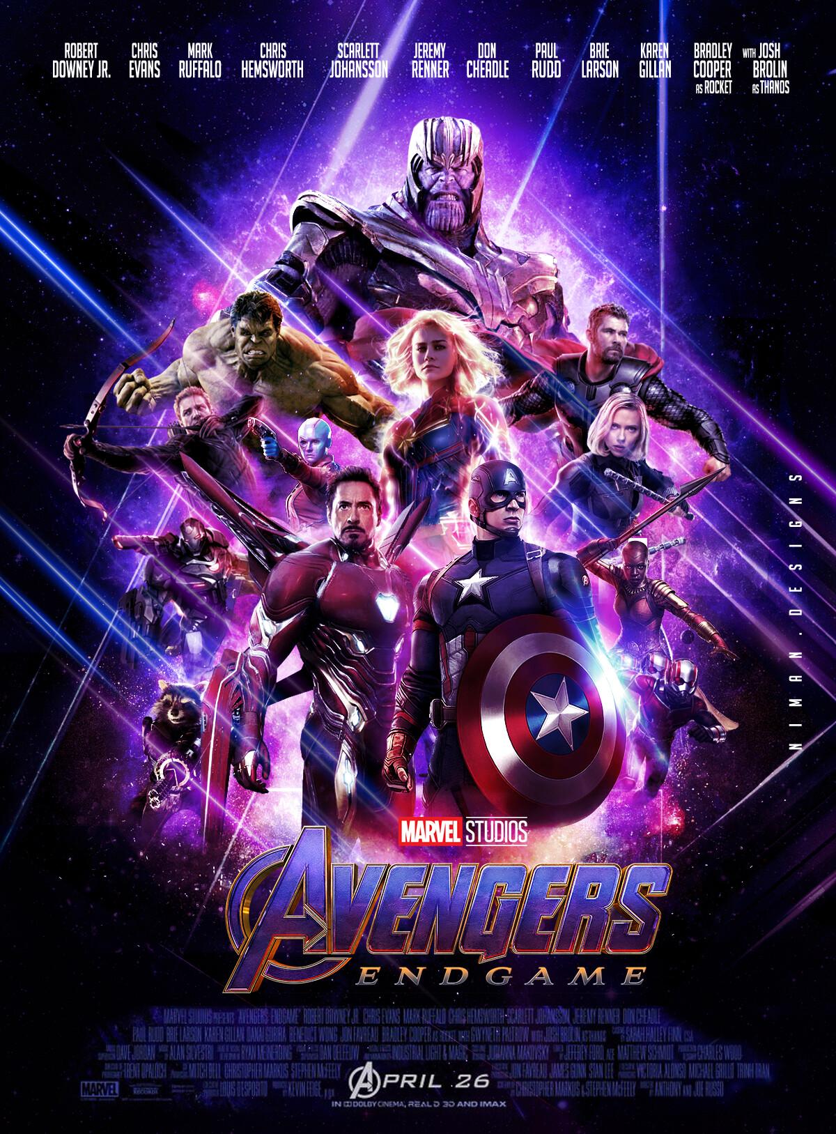 Artstation Avengers Endgame Niman Shrestha