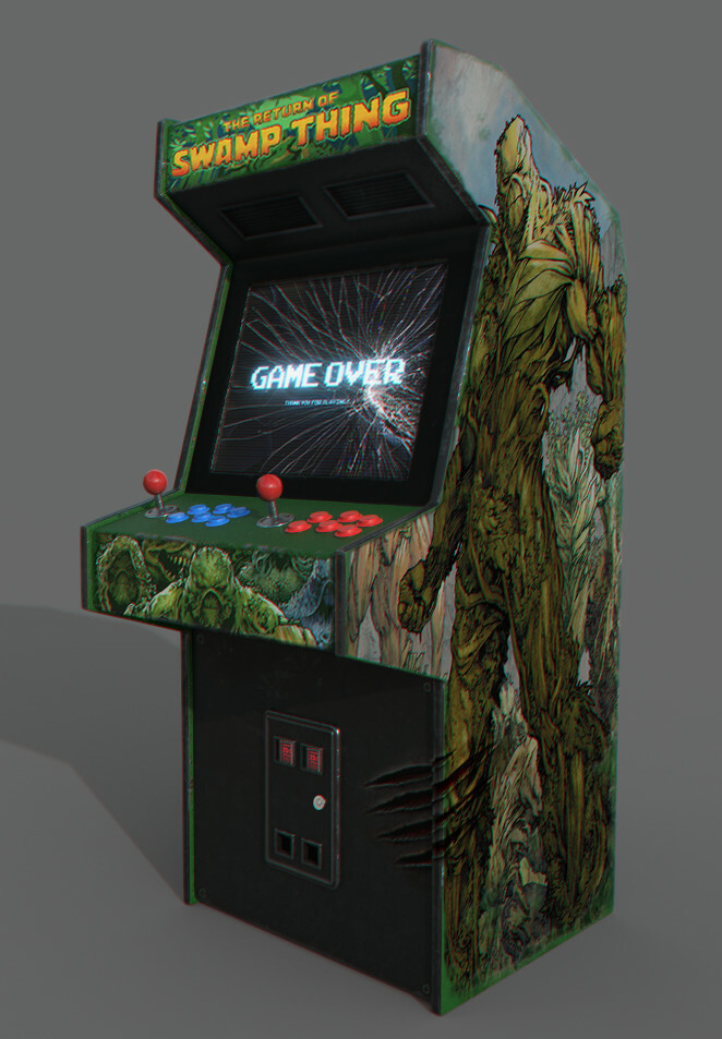 Swamp Thing - Arcade Machine
