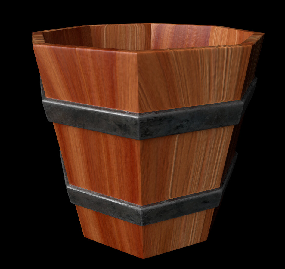 Joseph moniz wooden bucket001a