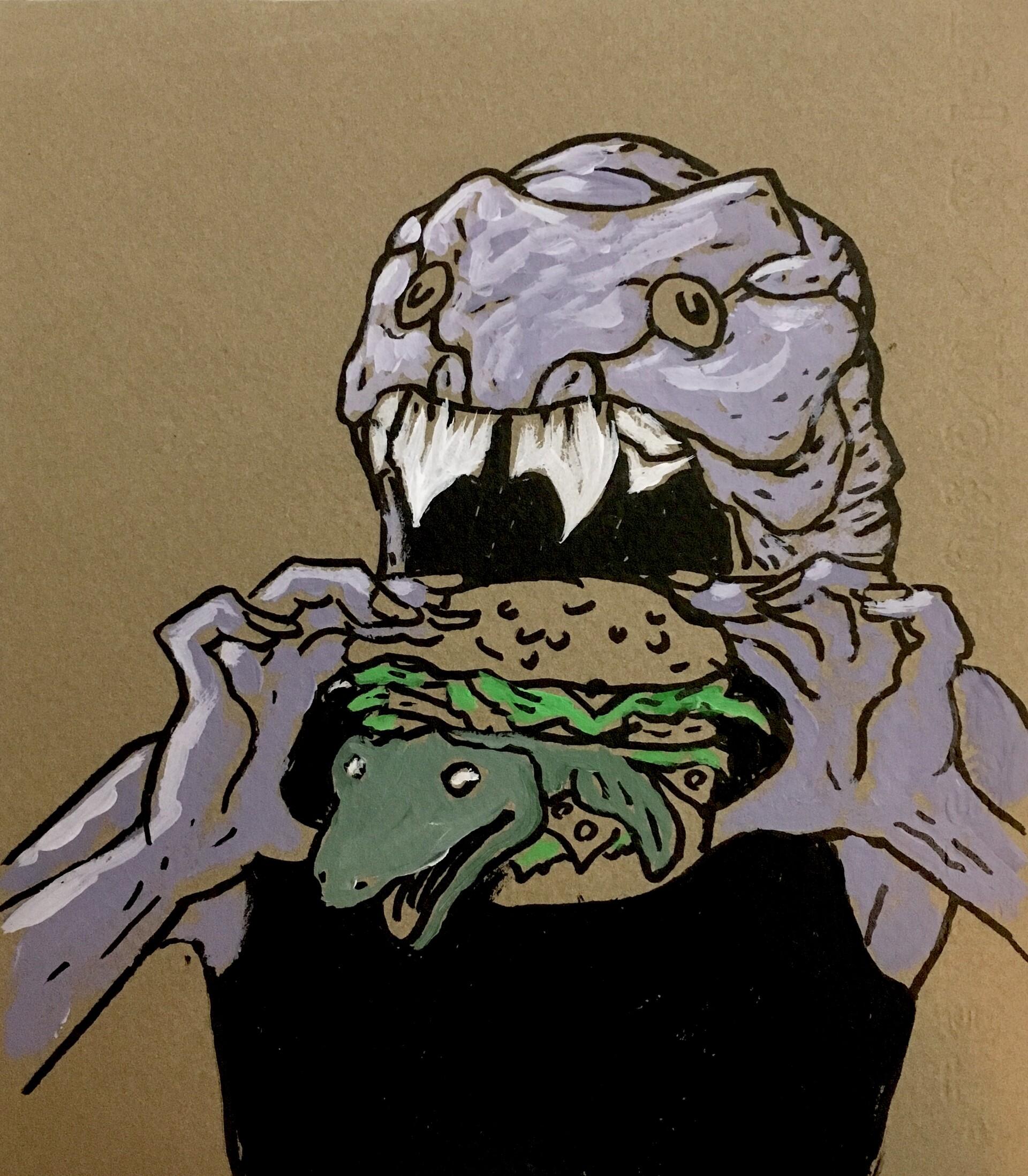 Patrick weck tiktaalik burger