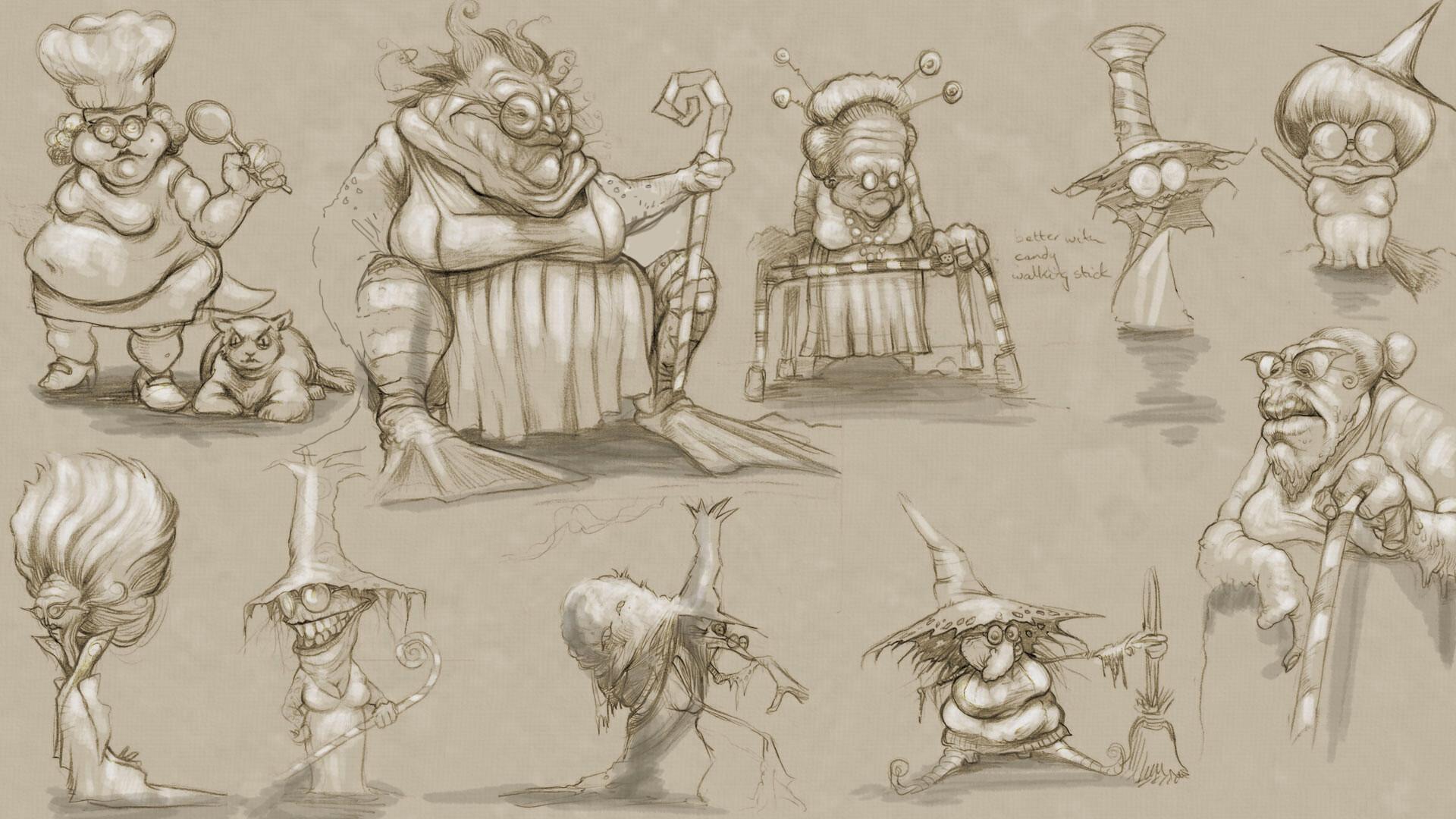 Robert thornely hanselgretel witches