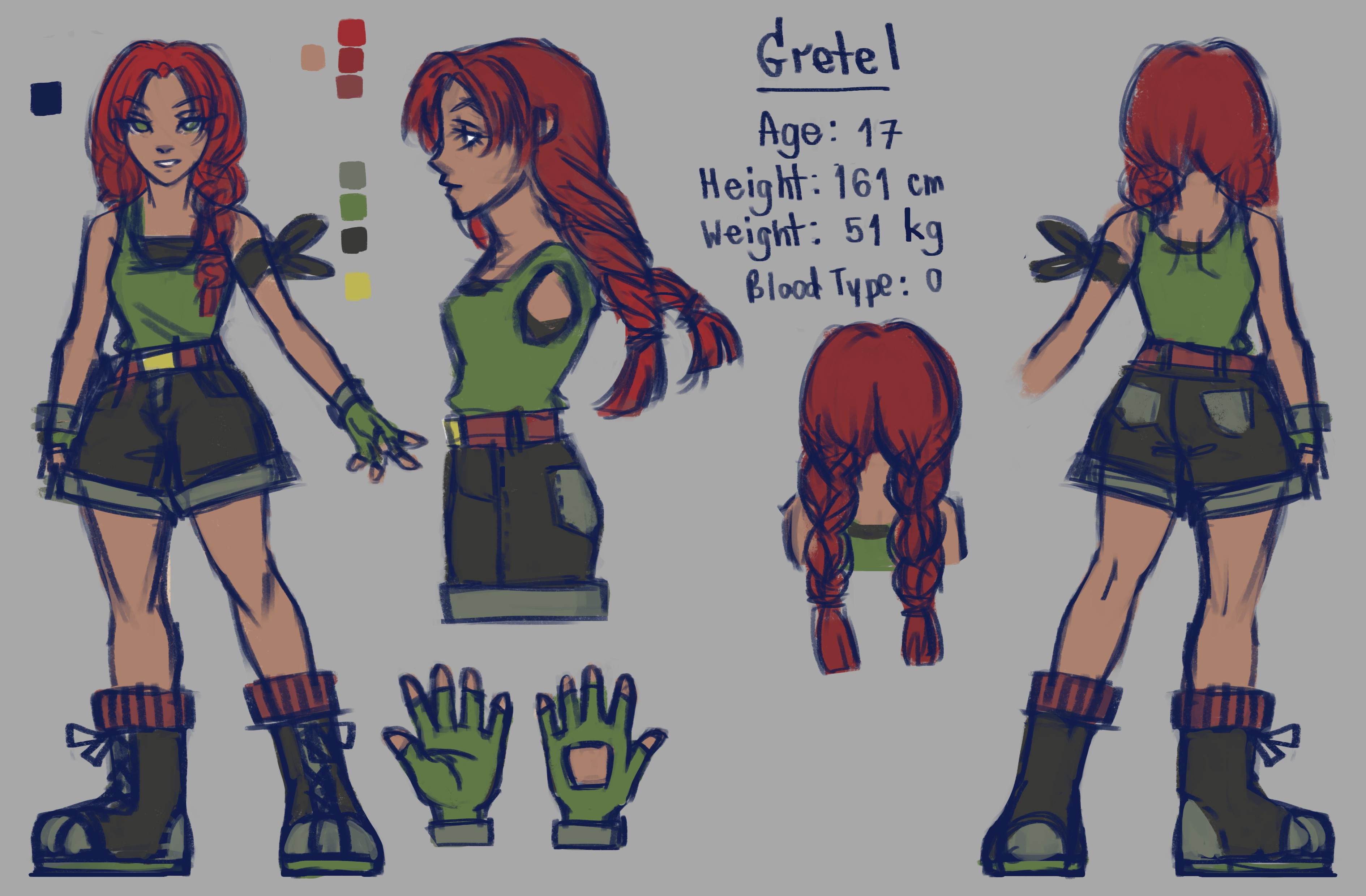 TalesRunner Character Concept - Gretel