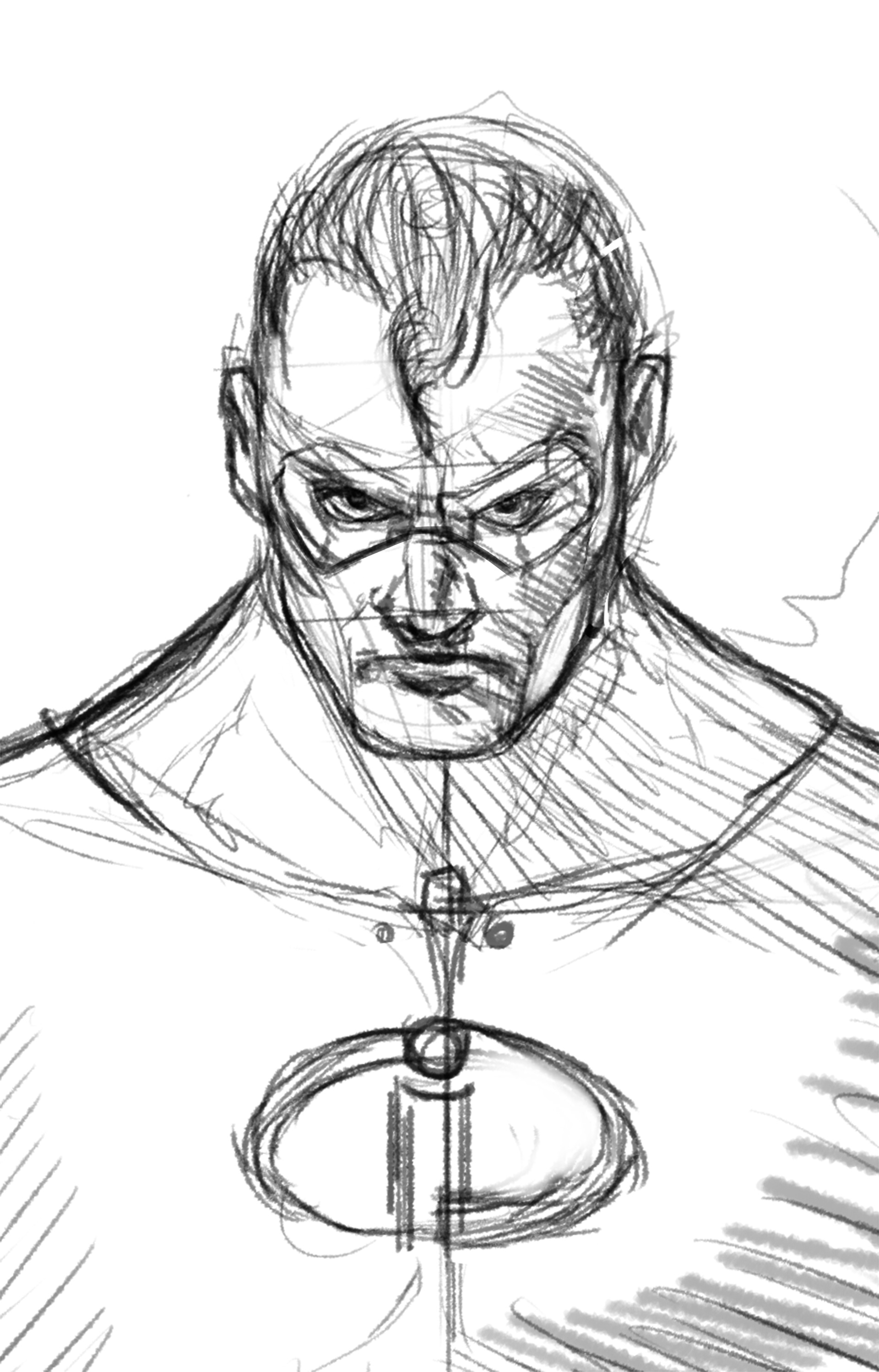 Charles logan sketch