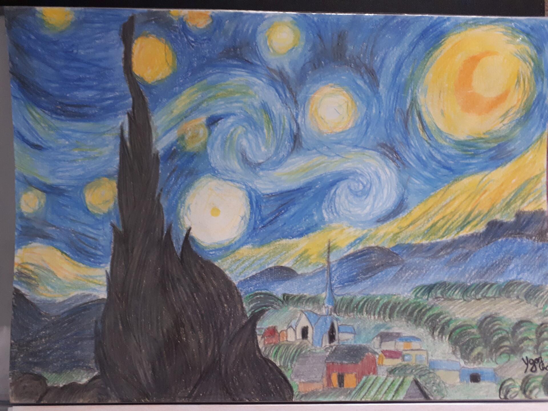 Ygor Chaves Noite Estrelada Do Van Gogh