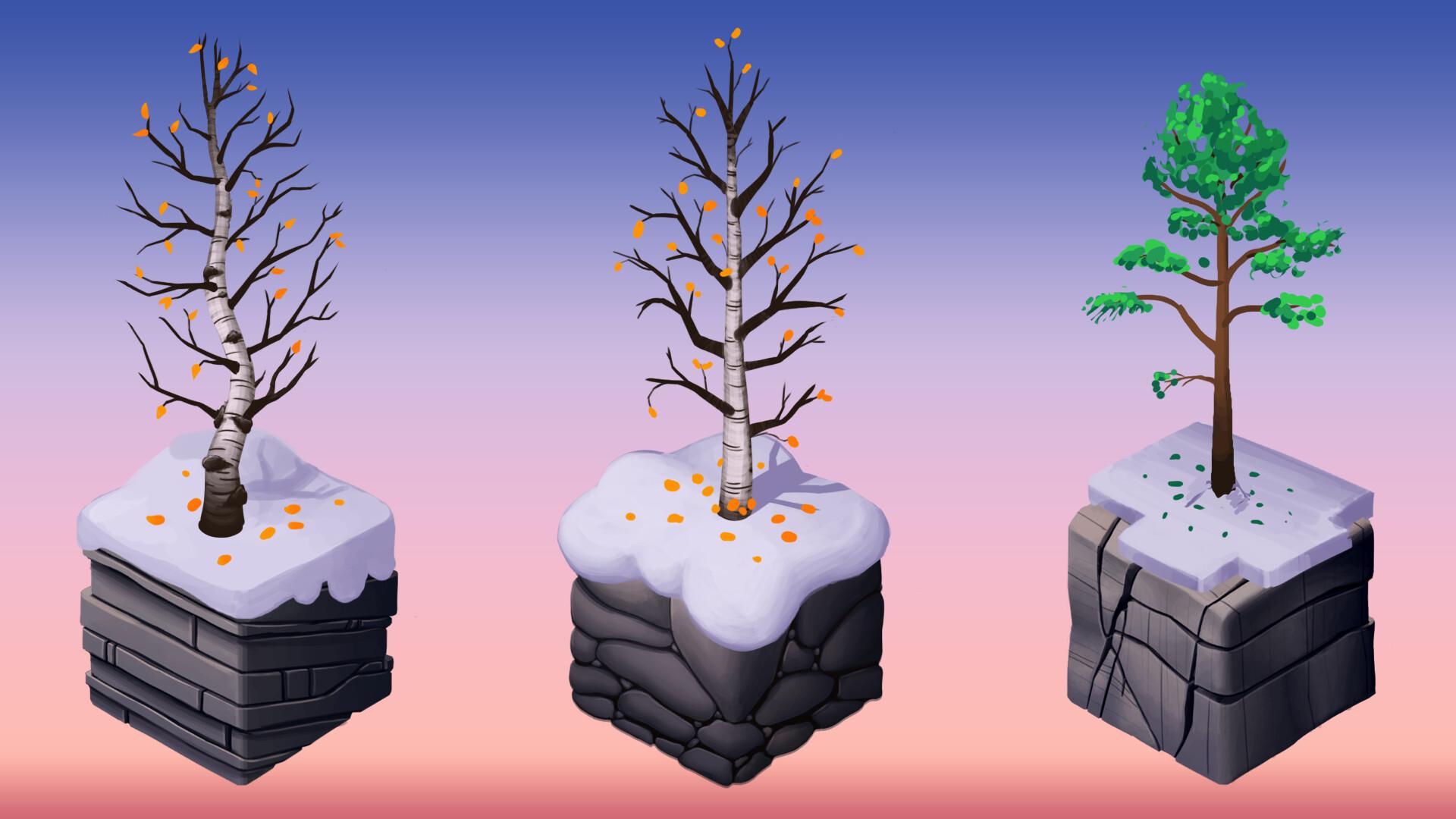 Helen o dell arctic trees