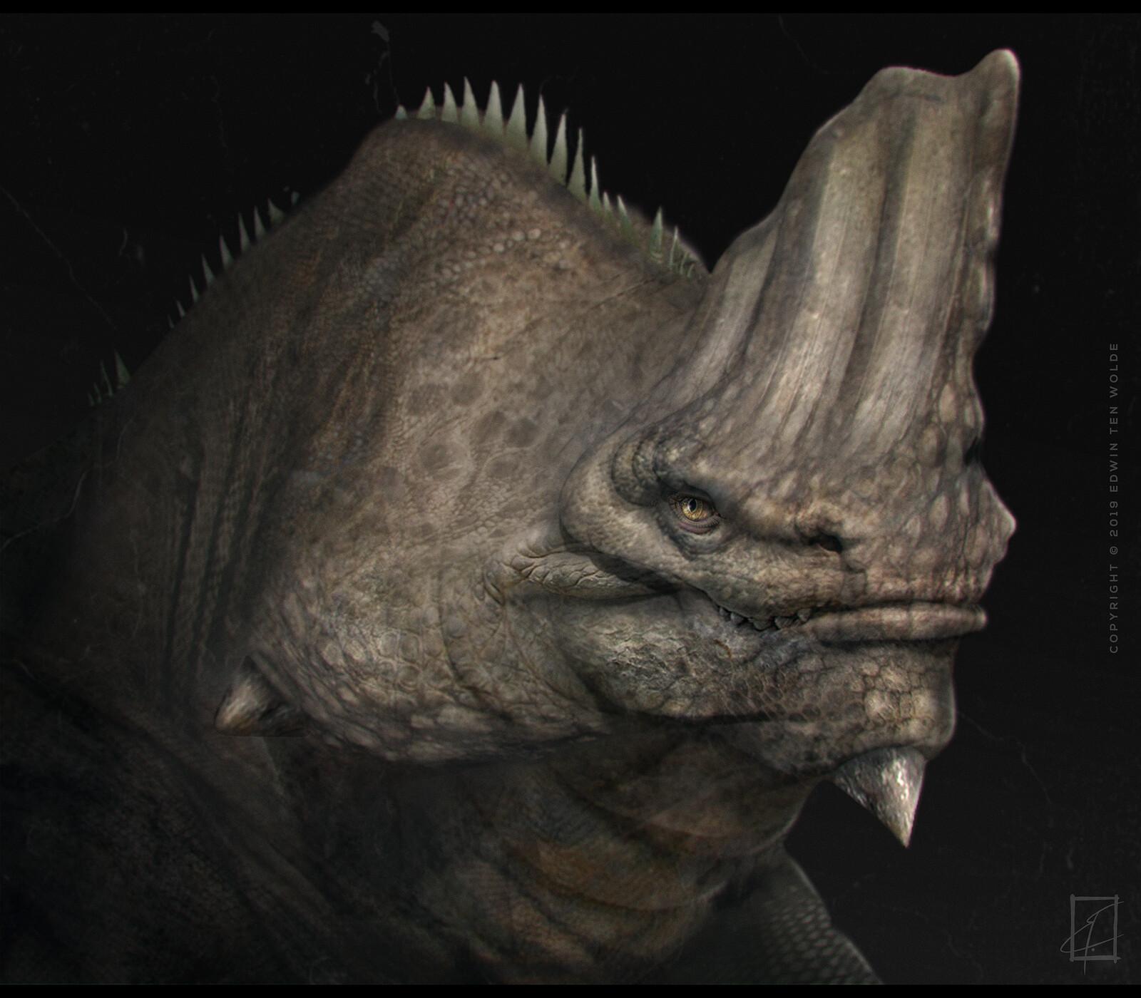 The Iguanordon Dragon