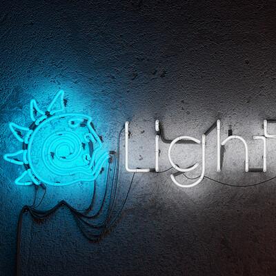 Luis lopes primitive lights neon sign luis lopes