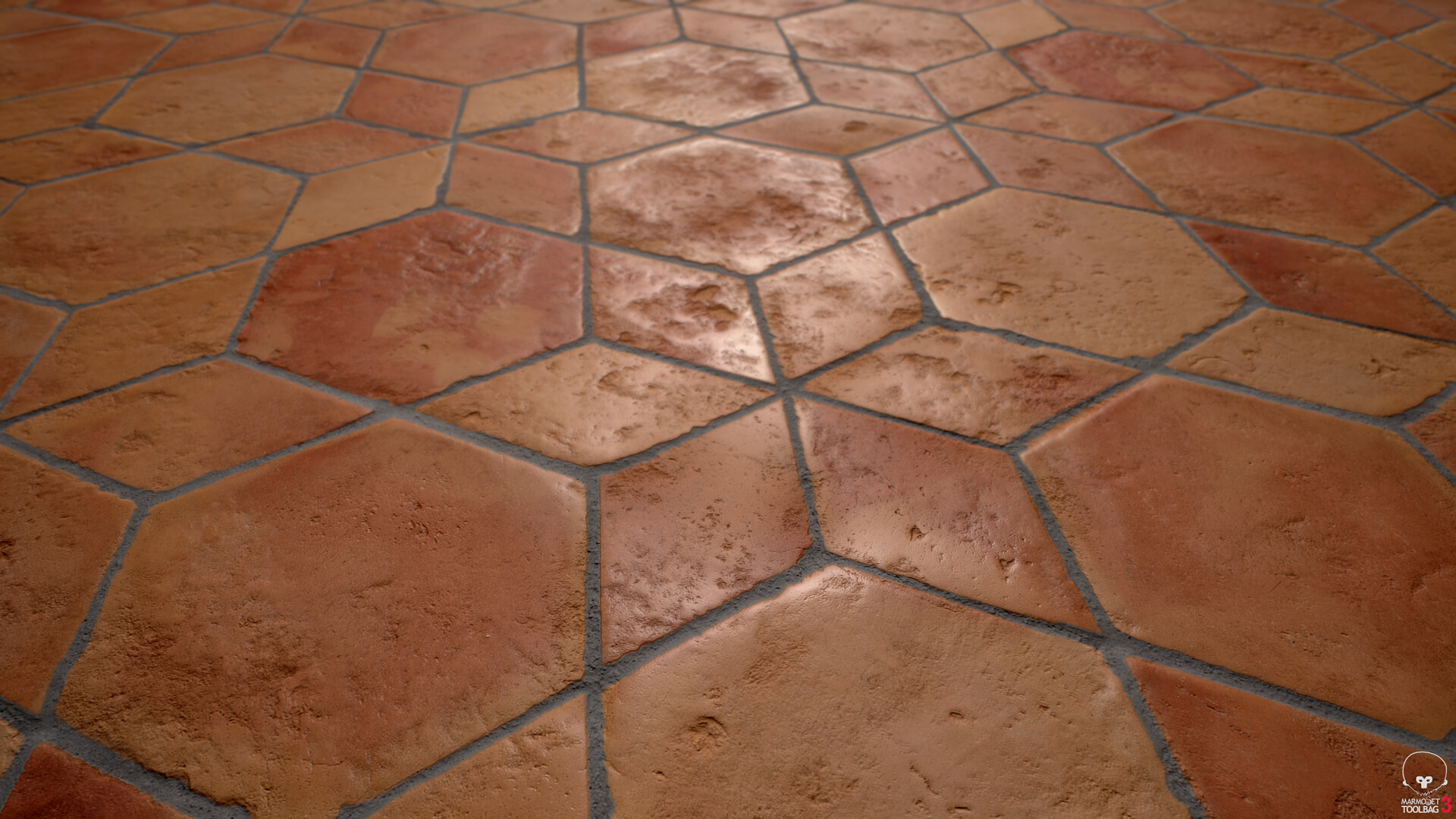 Antique Terracotta Floor Tiles