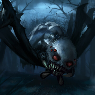 Sebastian diaconu the forest spider 2