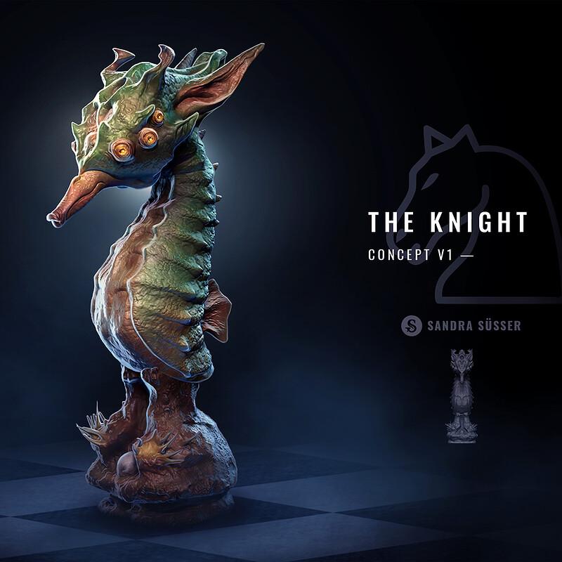 Alien Chess Set – The Knight