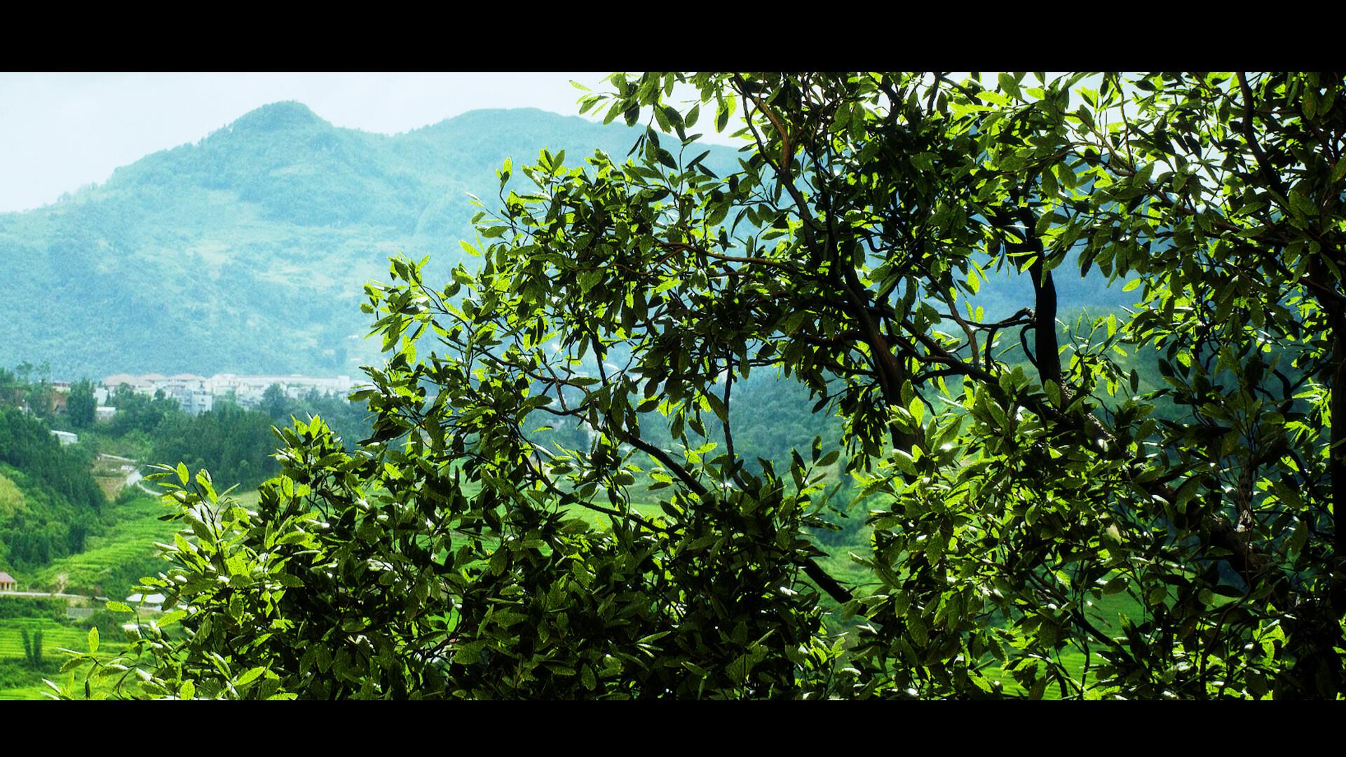 ArtStation - UE4 RTGI SpeedTrees, Constantine Chesire