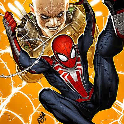 David nakayama spiderman 02 electro 1000v