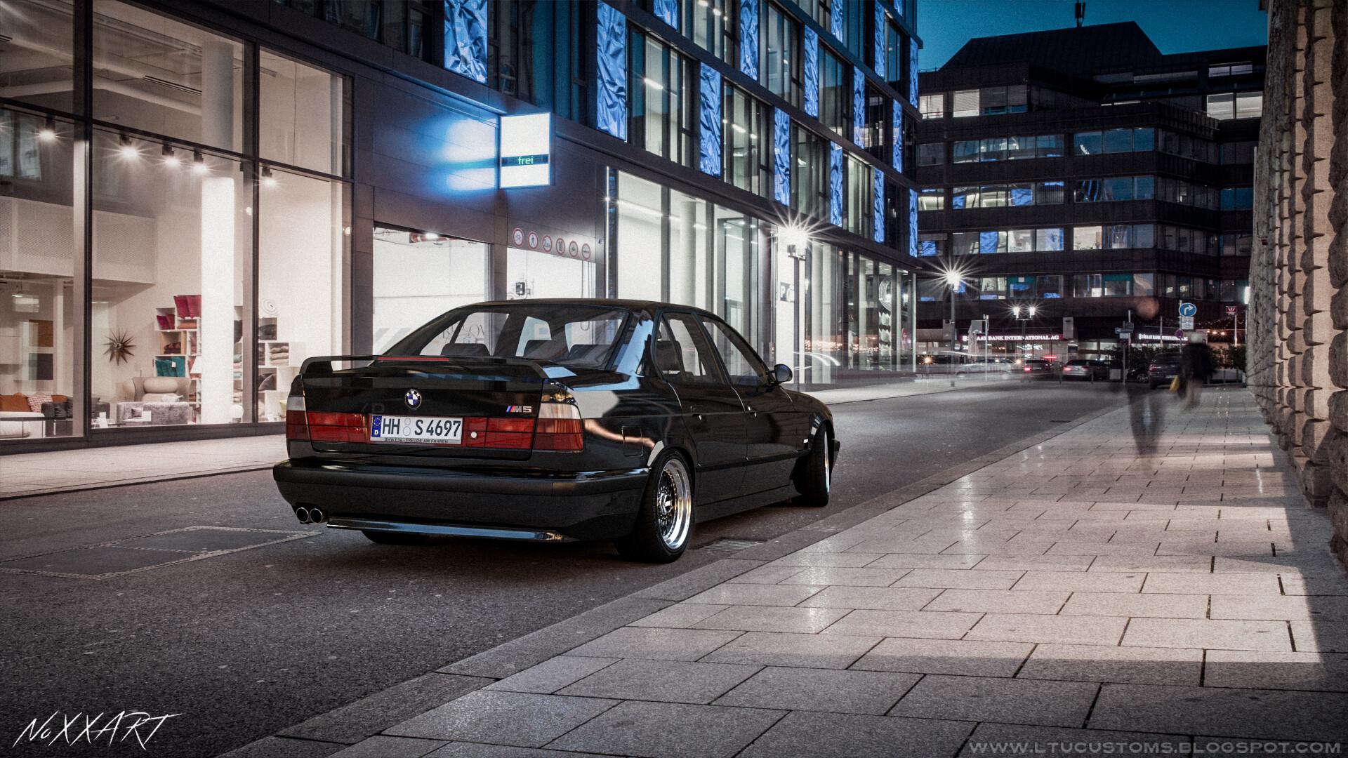 Evaldas Karpaciauskas Bmw E34 M5 Black