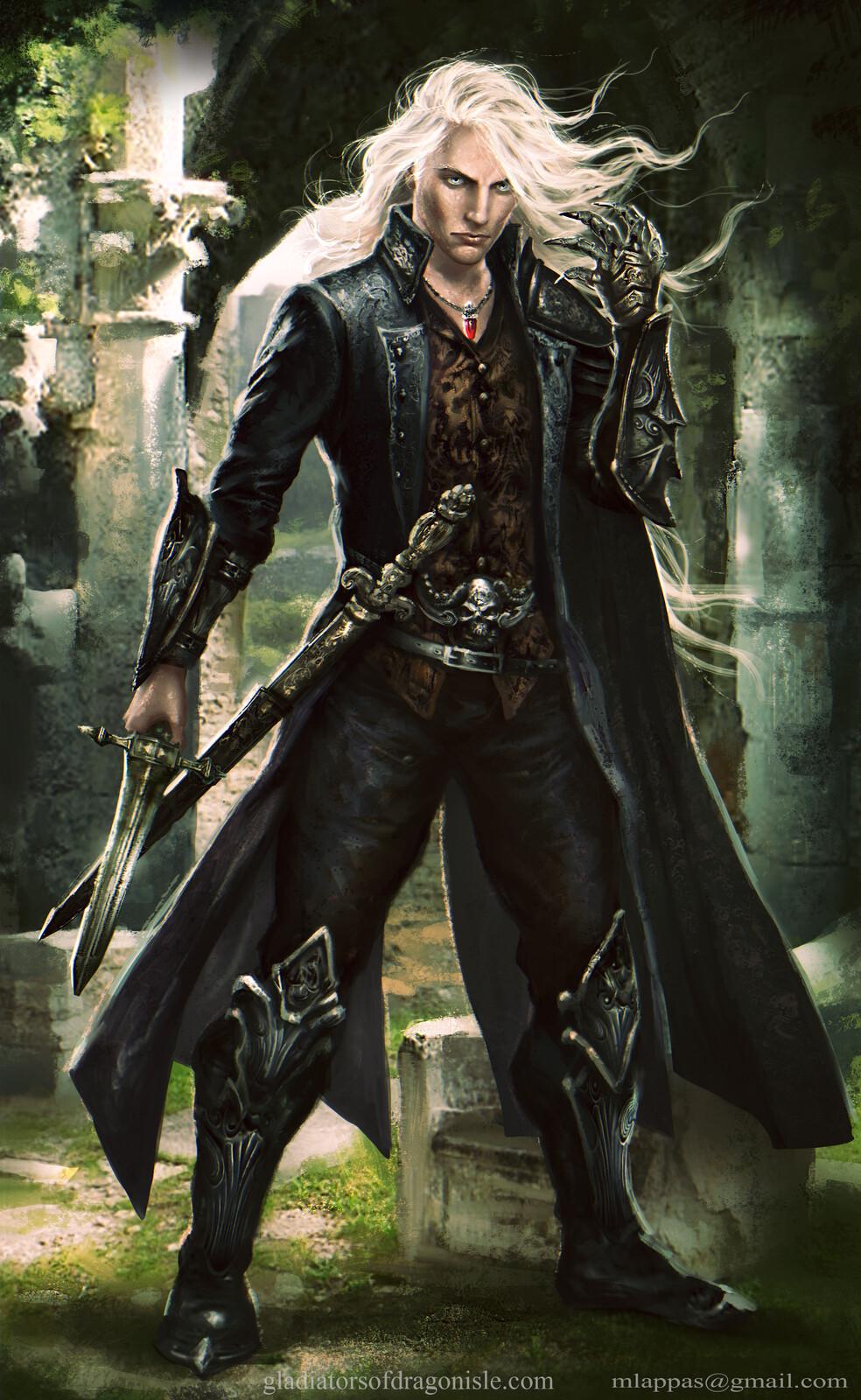 Baron Draven--Gladiators of Dragon Isle