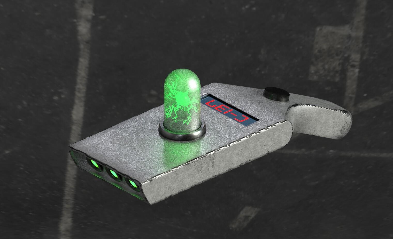 ArtStation - Portal gun, Chris Mauro