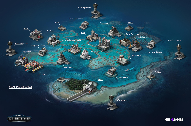 Naval Base map