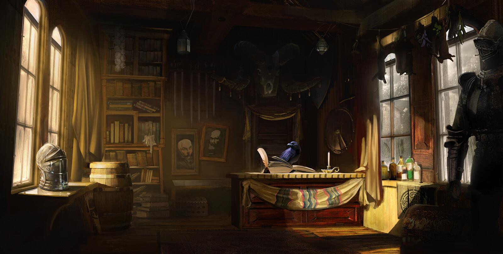 Curious Cottage - inside shots