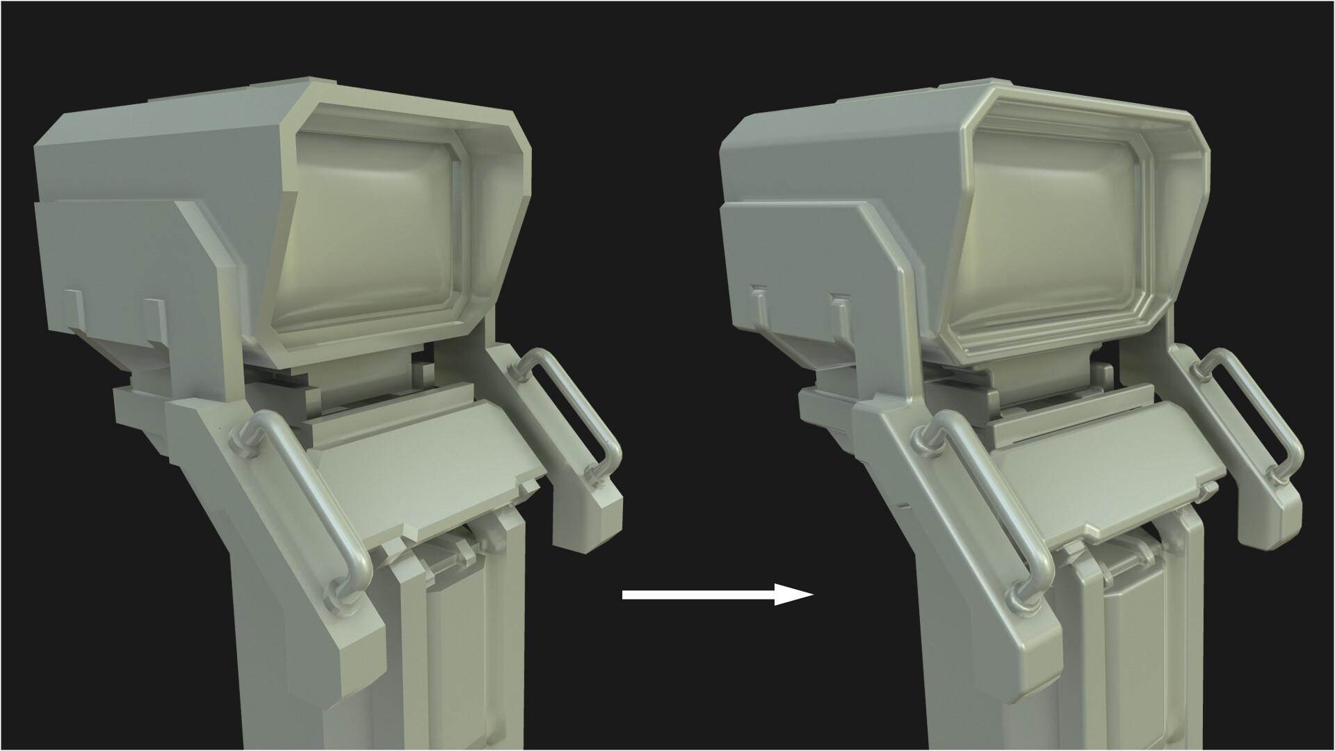 ArtStation - Custom Normals Tool for 3DS Max, Ben Boscher
