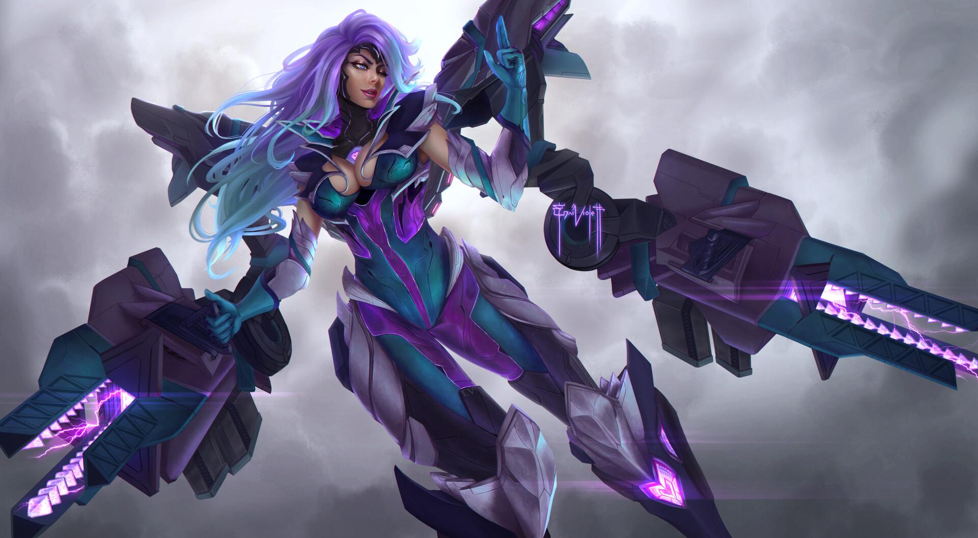 Gun Goddess Miss Fortune League Of Legends Fan-Art   Art