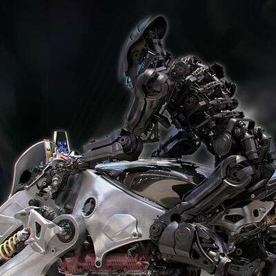 Ying te lien robot rider