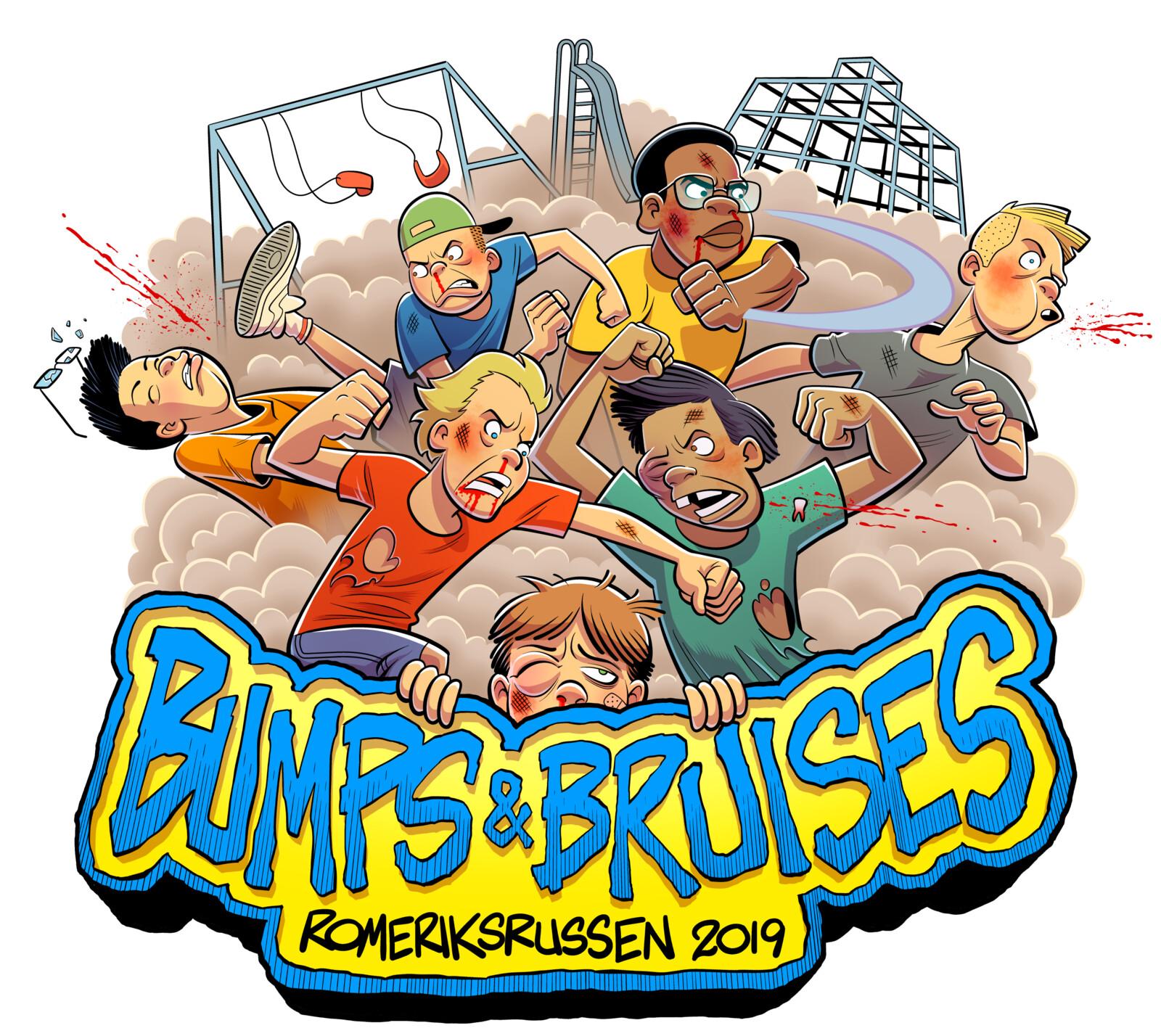 Bumps & Bruises Russ Logo