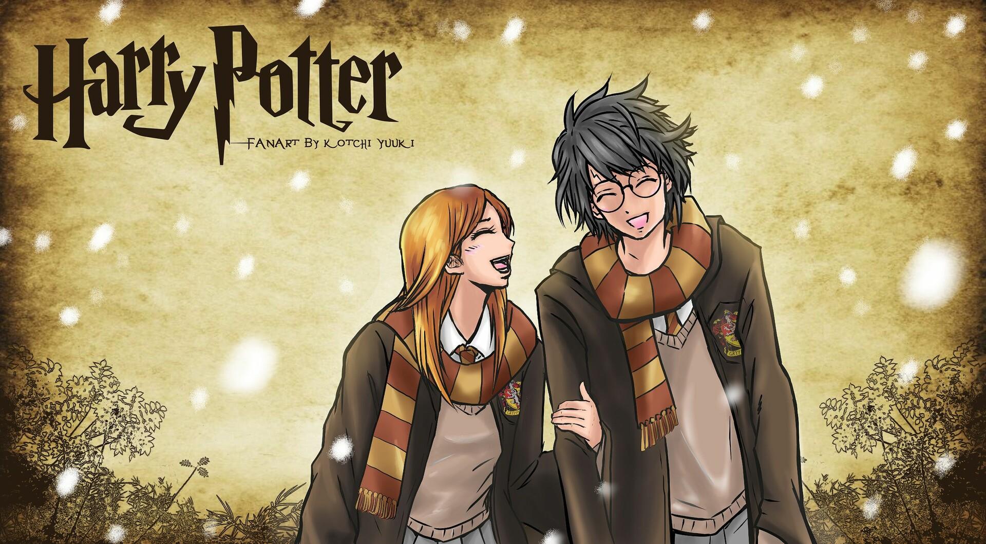 Artstation Harry Potter Ginny Weasley Wallpaper Kotchi