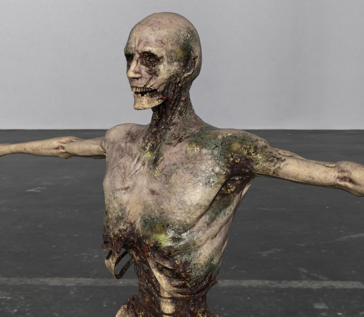 Dire Zombie Textures