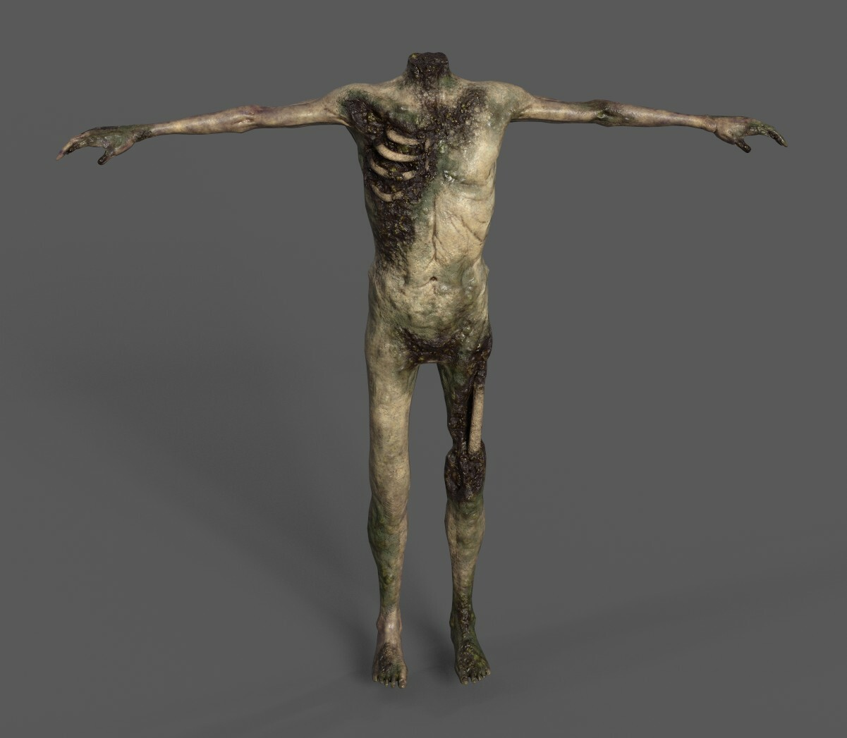 Headless Zombie Textures