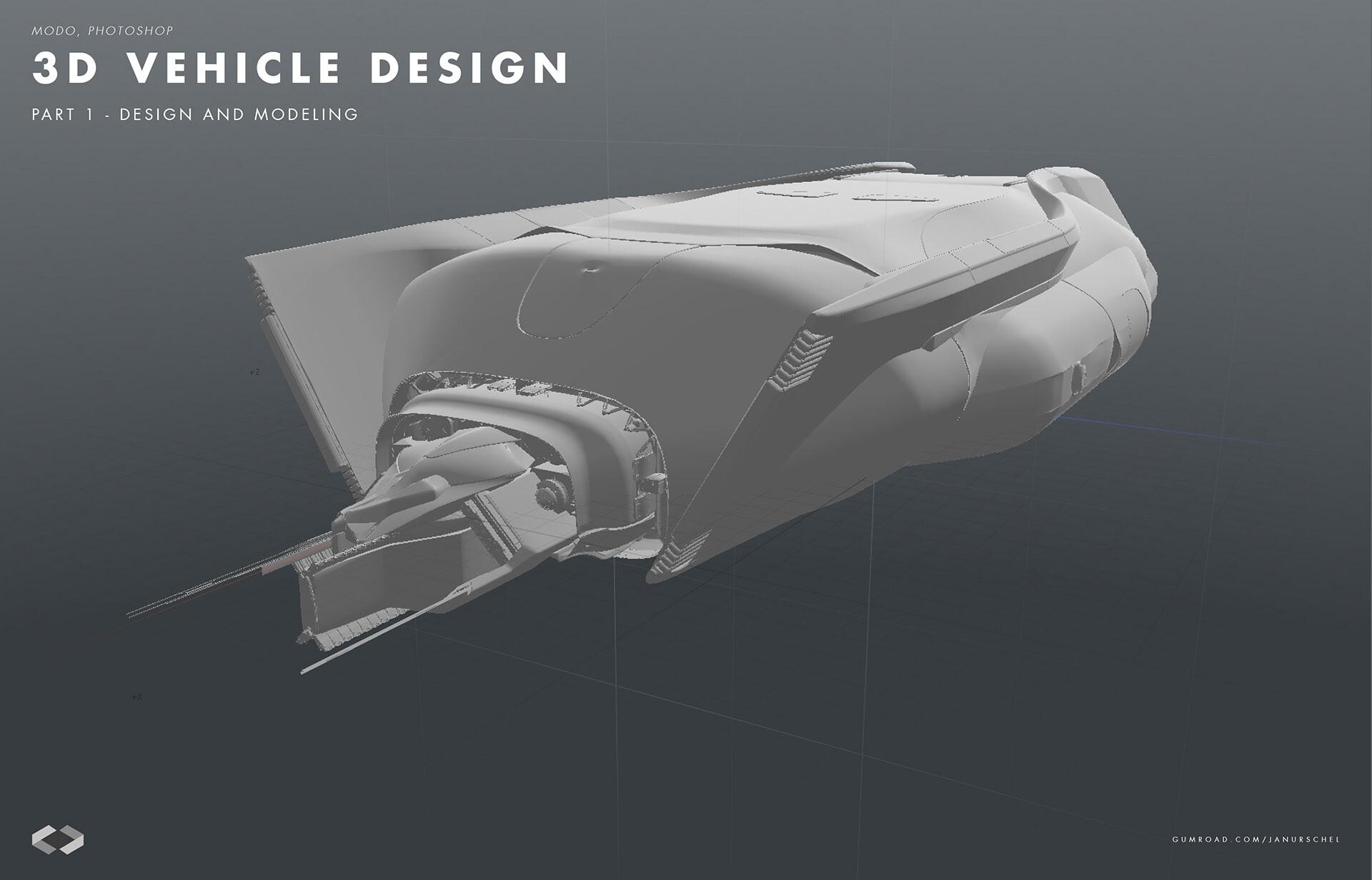 ArtStation - 3D Vehicle Design - Part 1, Jan Urschel