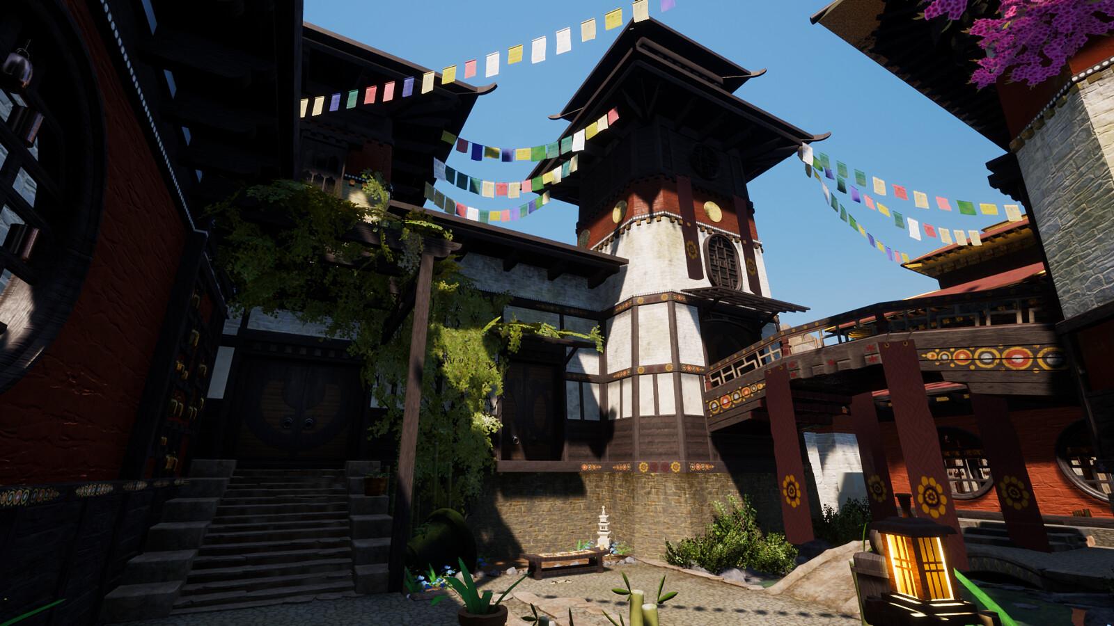 Tibet Monastery,