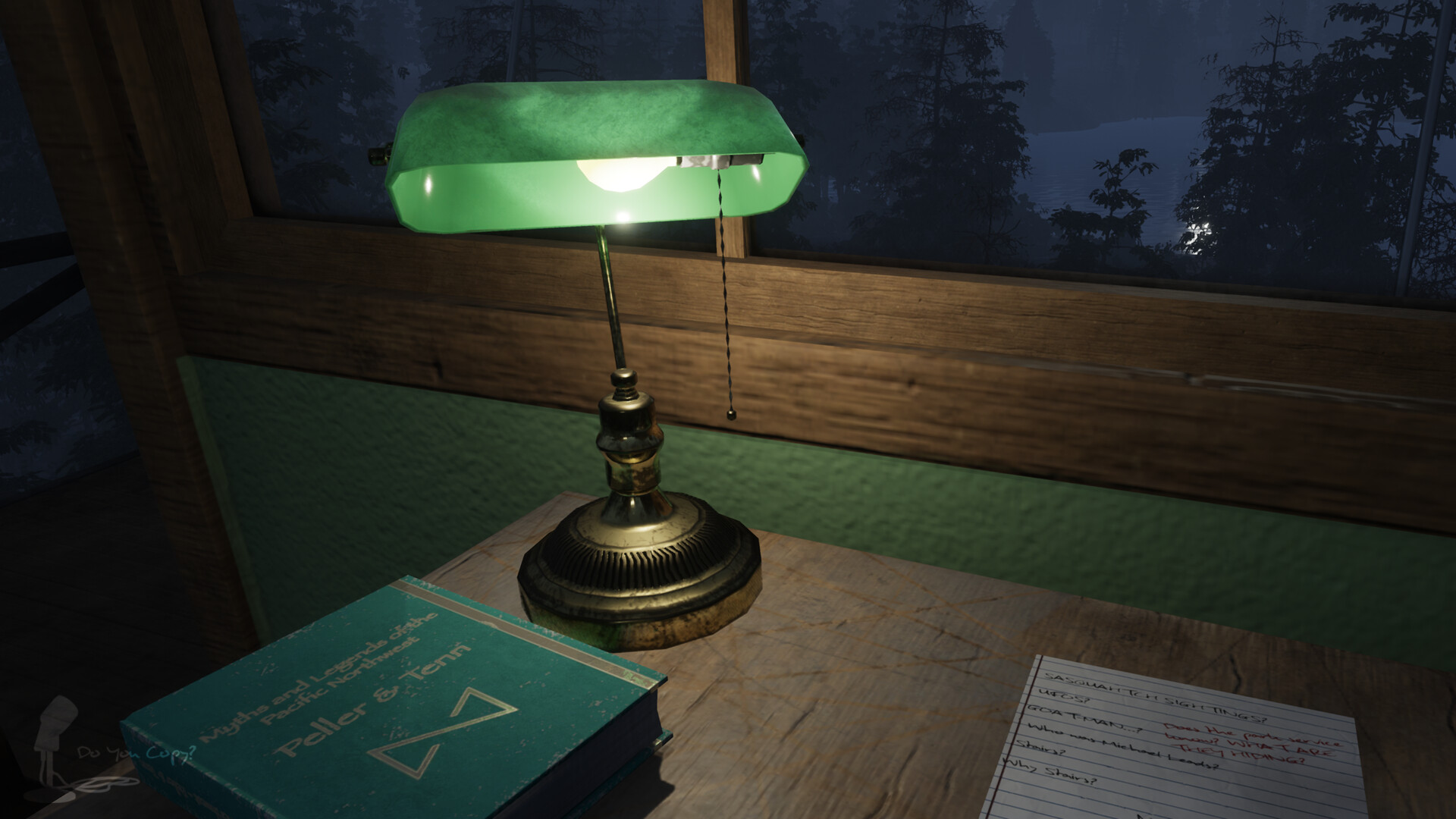 Desk Lamp - In Game
