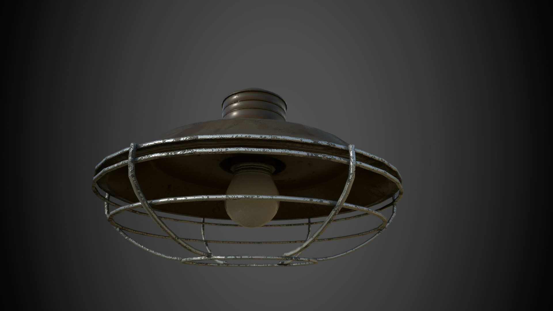 Hanging lamp - Rendered in Iray
