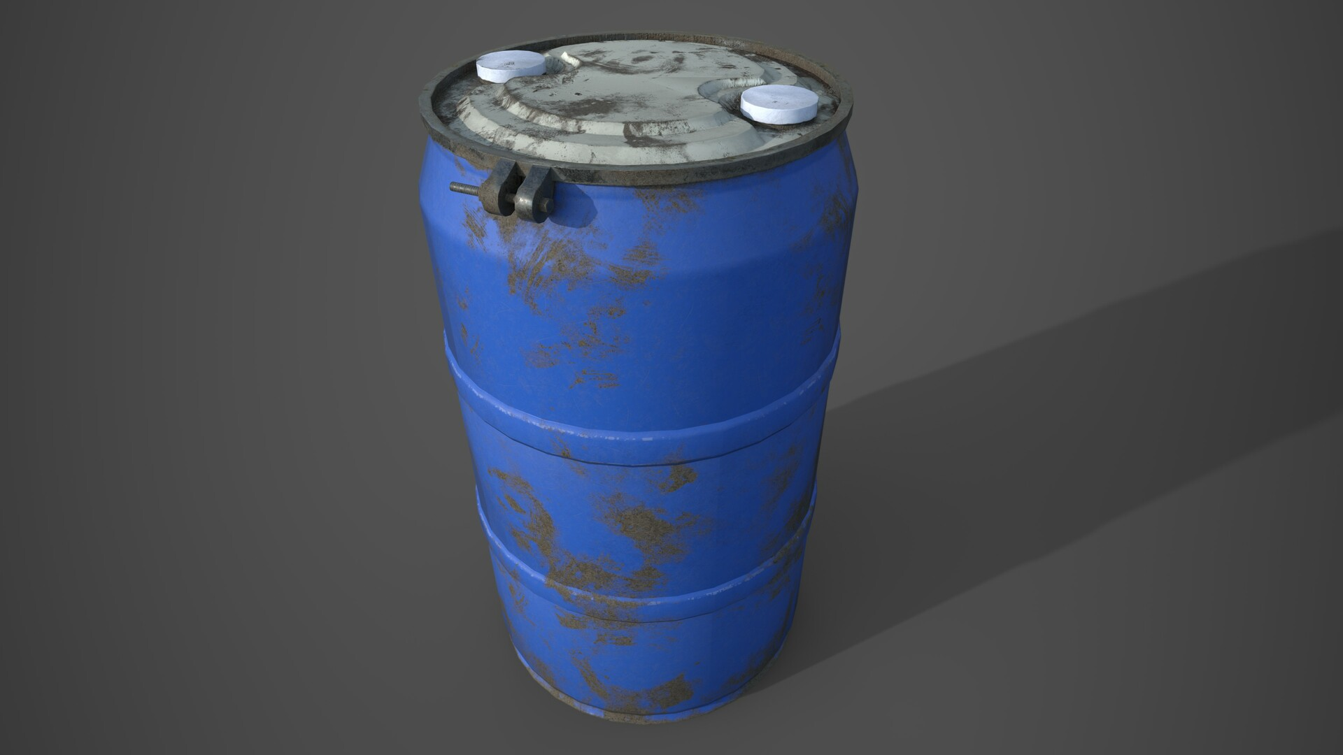 55 Gallon Drum -  Rendered in Iray