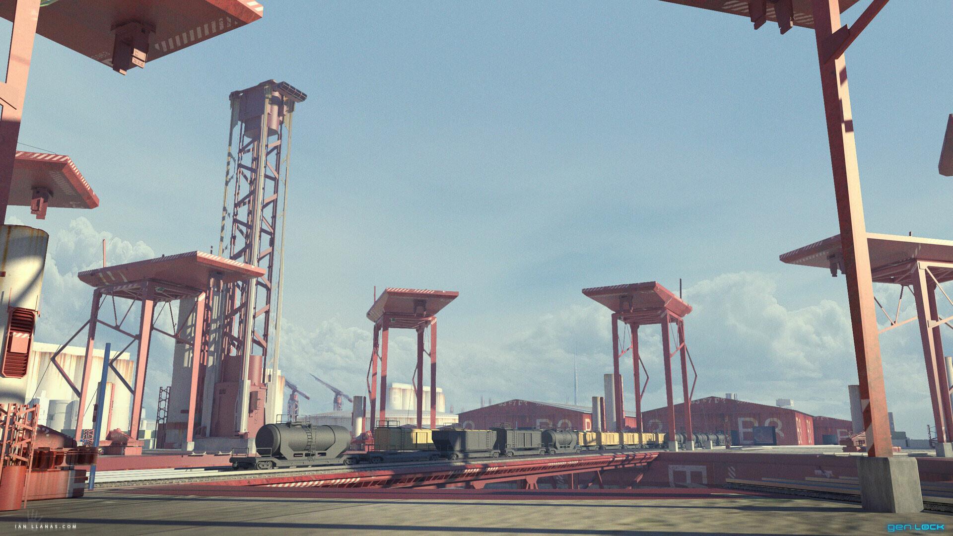 Ian llanas trainyard tower2