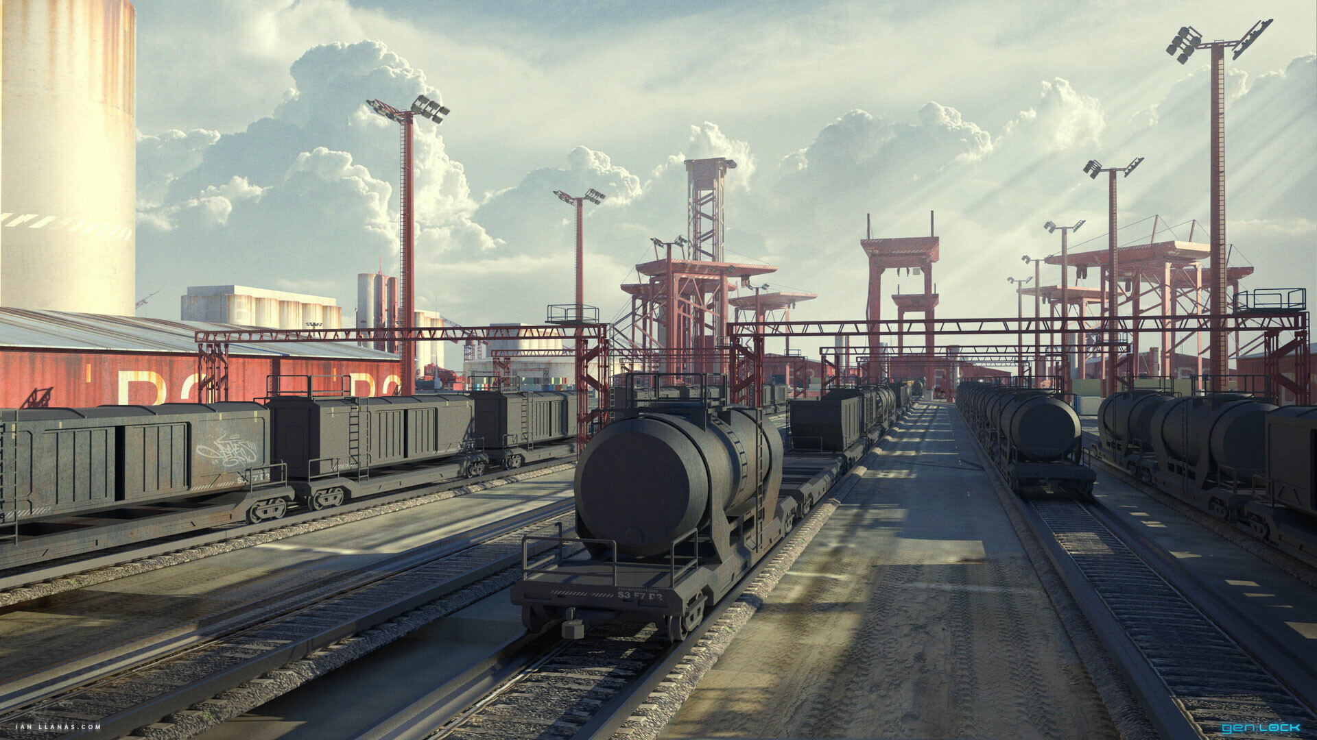 Ian llanas trainyard traincars2