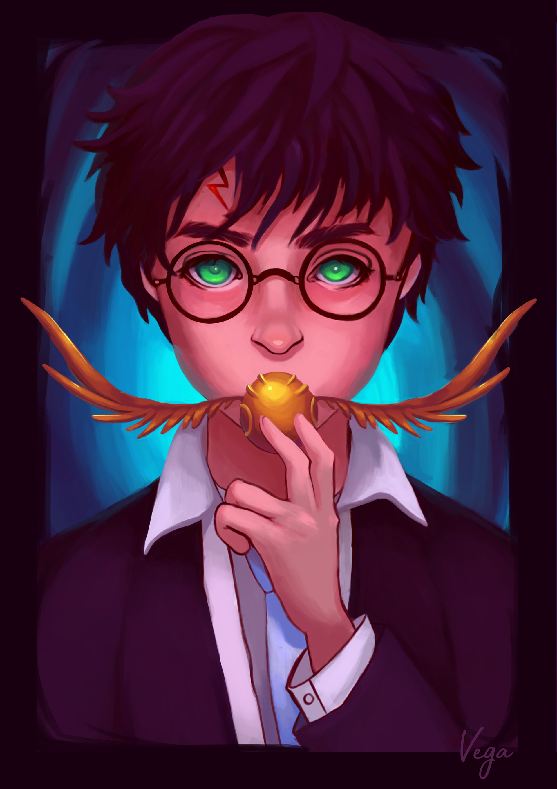 ArtStation - Harry Potter fanart, Lara M  Vega