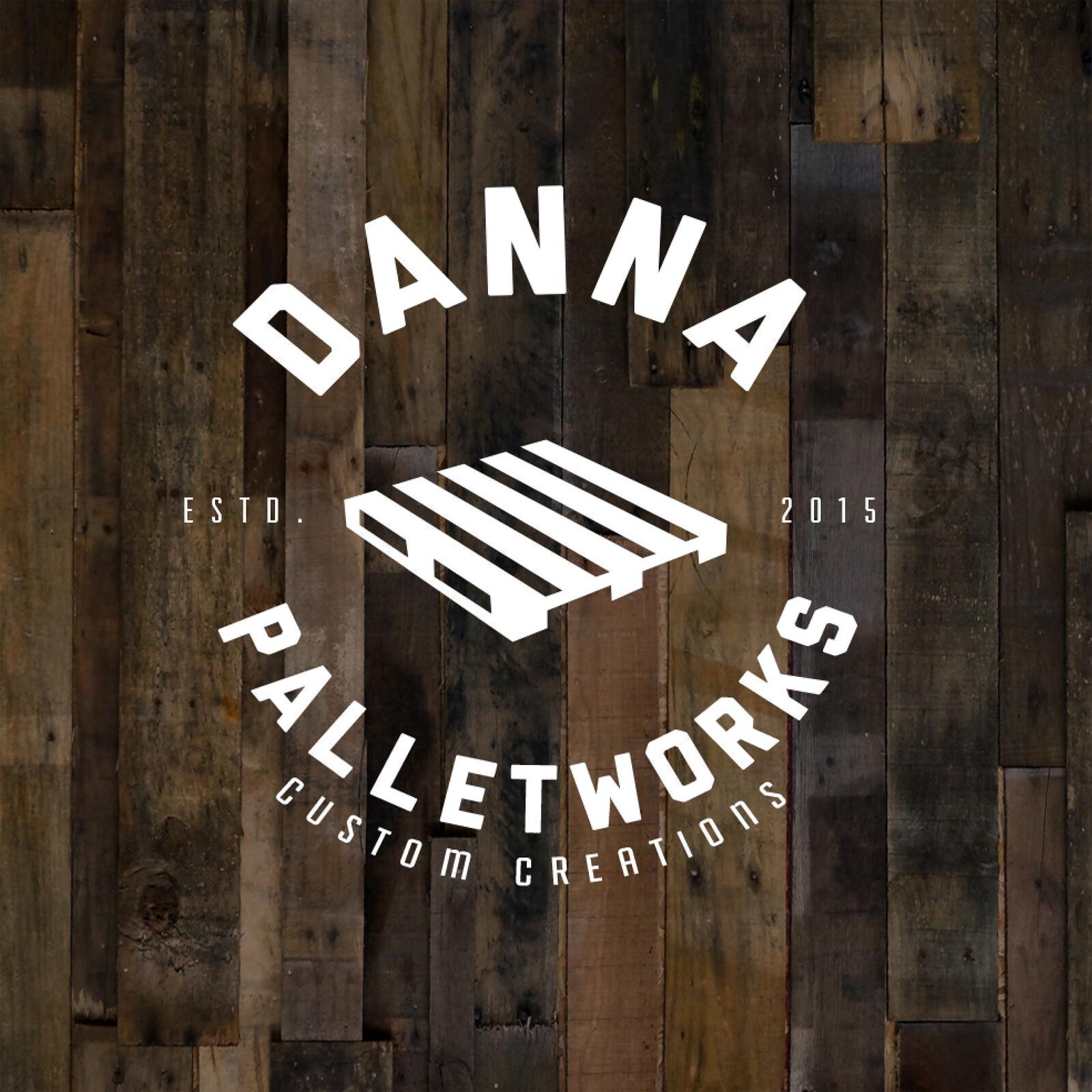 Danna Palletworks Logo Design