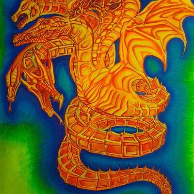 Daniel denta solar serpent