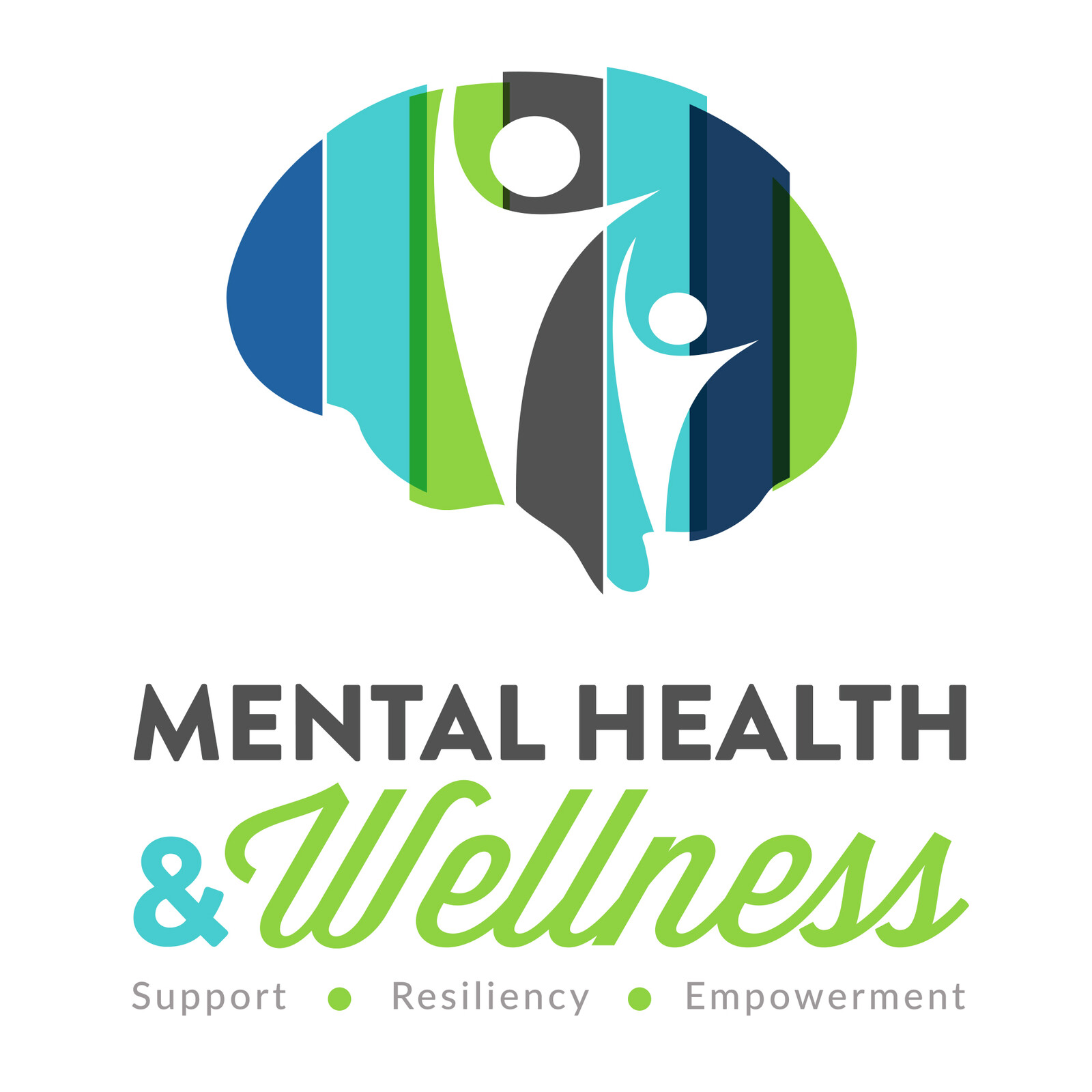 Mental Health and Wellness Logo