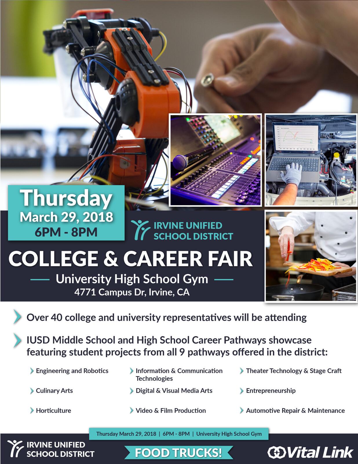 Career Technical Education Flyer 2018