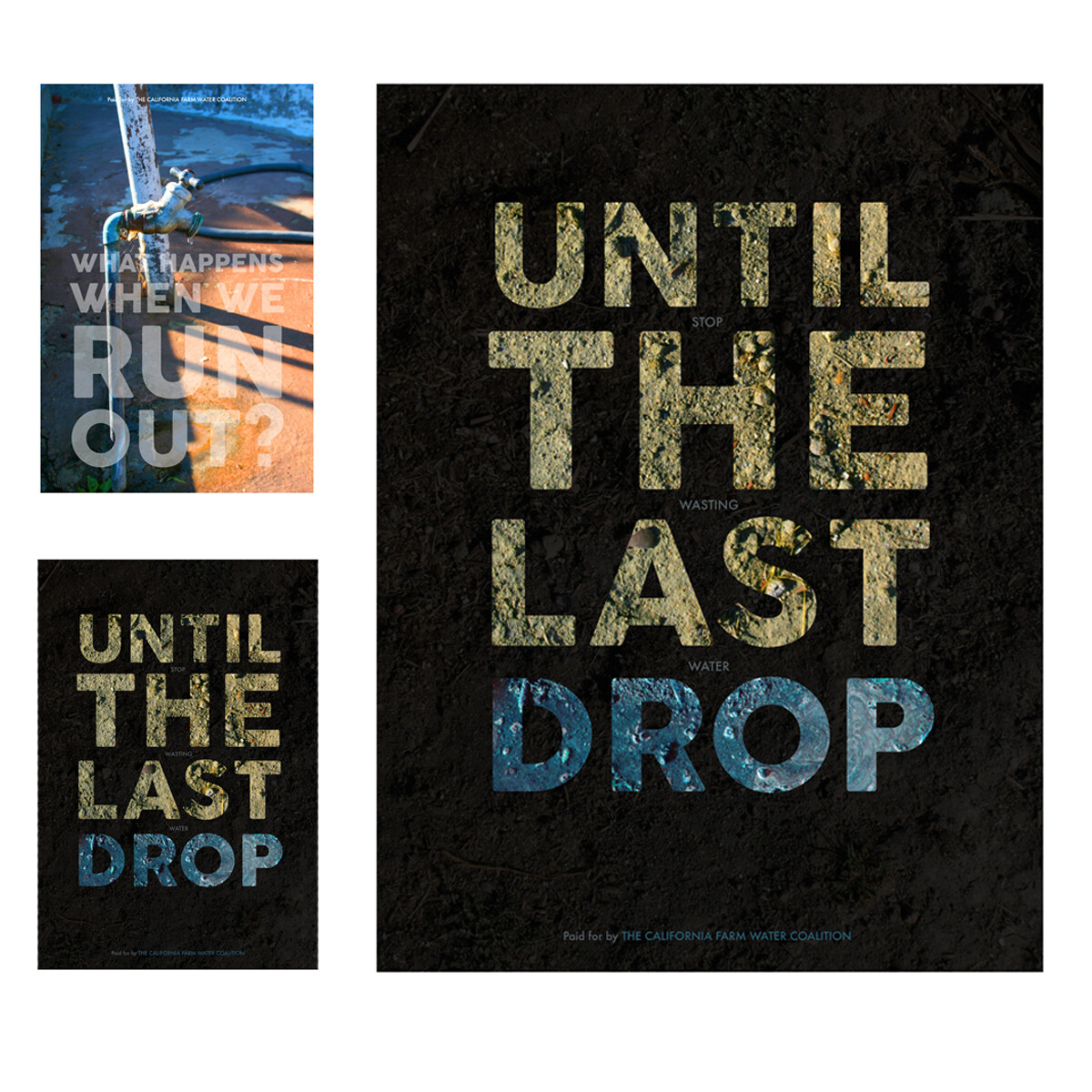 Until The Last Drop - Drought Poster